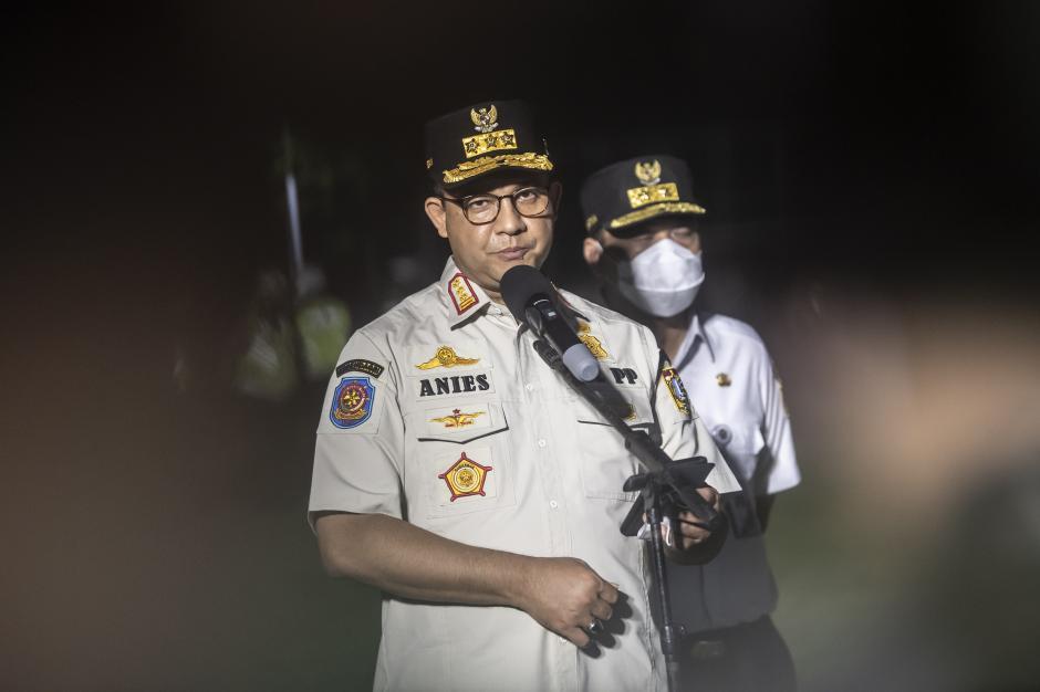Kasus Covid-19 Jakarta Kembali Tinggi, Anies Gelar Apel Penegakan Pendisiplinan PPLM Skala Mikro-3