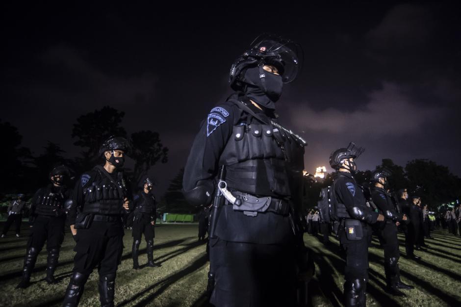 Kasus Covid-19 Jakarta Kembali Tinggi, Anies Gelar Apel Penegakan Pendisiplinan PPLM Skala Mikro-0