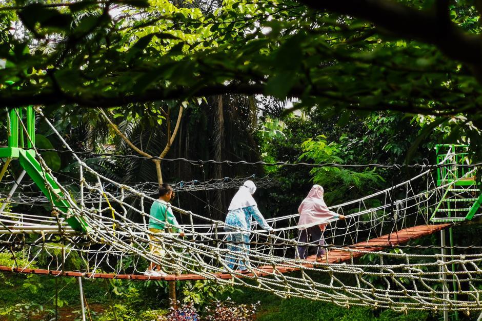 Menikmati Libur Akhir Pekan di Kampung Main Cipulir-3