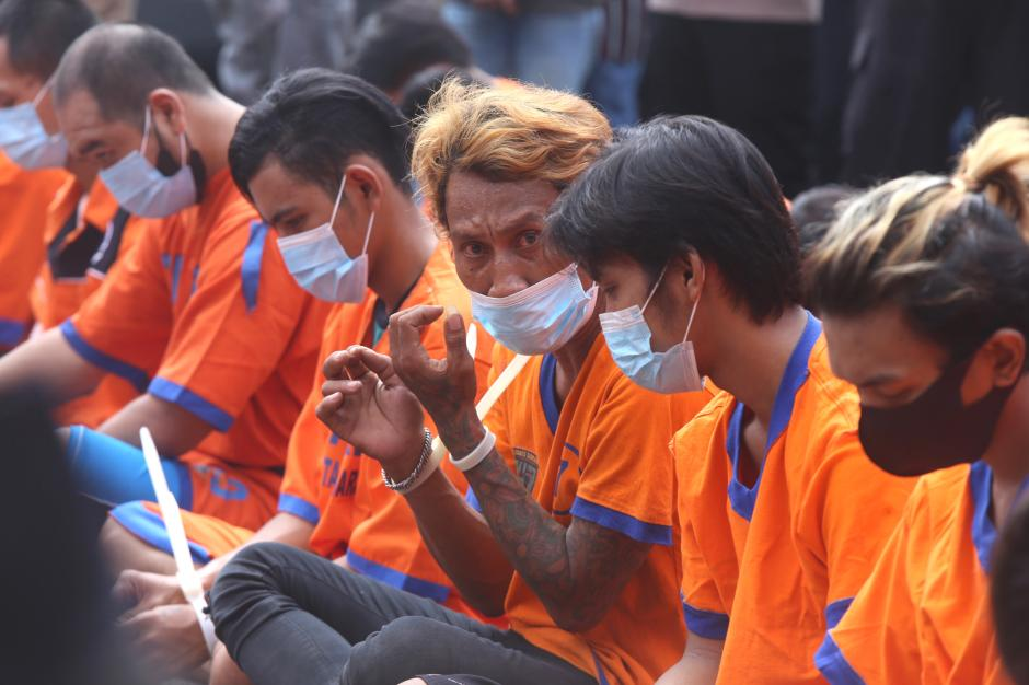 Meresahkan Warga dan Sopir Truk, Puluhan Preman di Wilayah Jawa Timur Disikat Polisi-3