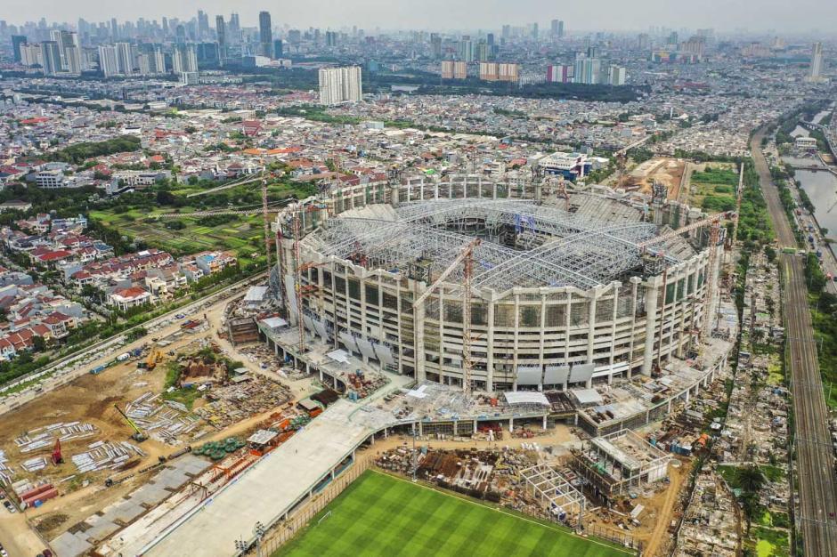 Bikin Bangga, Begini Potret dari Udara Kemegahan Jakarta International Stadium-1
