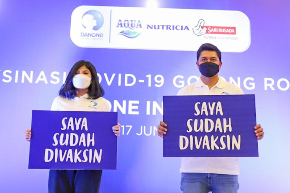 Danone Indonesia Gelar Vaksinasi Gotong Royong di Sentul-4