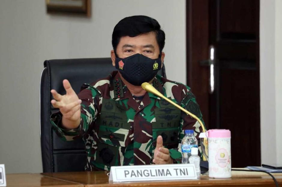 Tegas, Panglima TNI Minta 4 Pilar Tegakan PPKM Mikro di Madiun-3