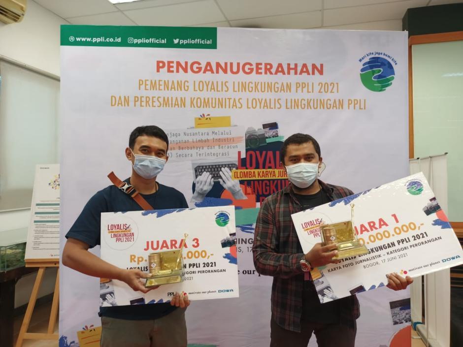 Fotografer MPI Sabet Dua Penganugerahan Loyalis Lingkungan PPLI 2021-3