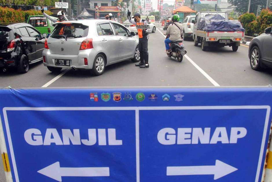 Pemberlakuan Aturan Ganjil Genap di Kota Bogor-2