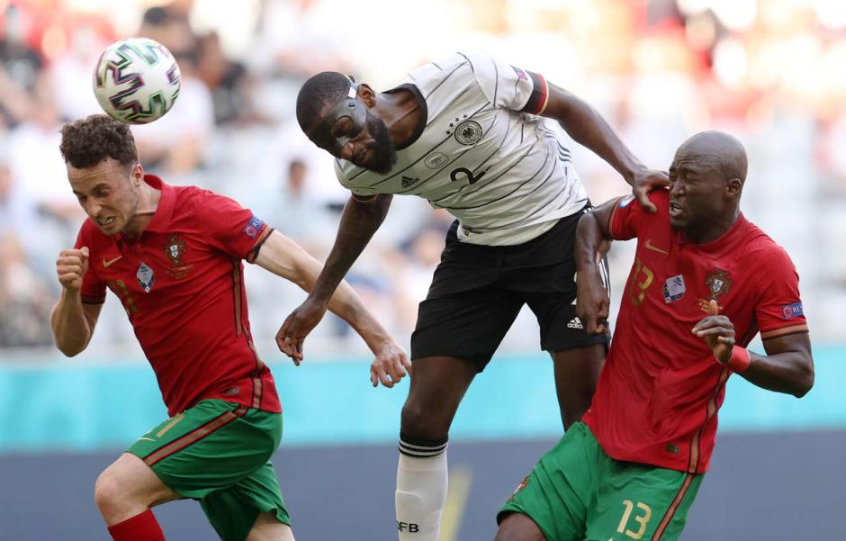 Grup F Euro 2020 : Jerman Sikat Portugal 4-2-1