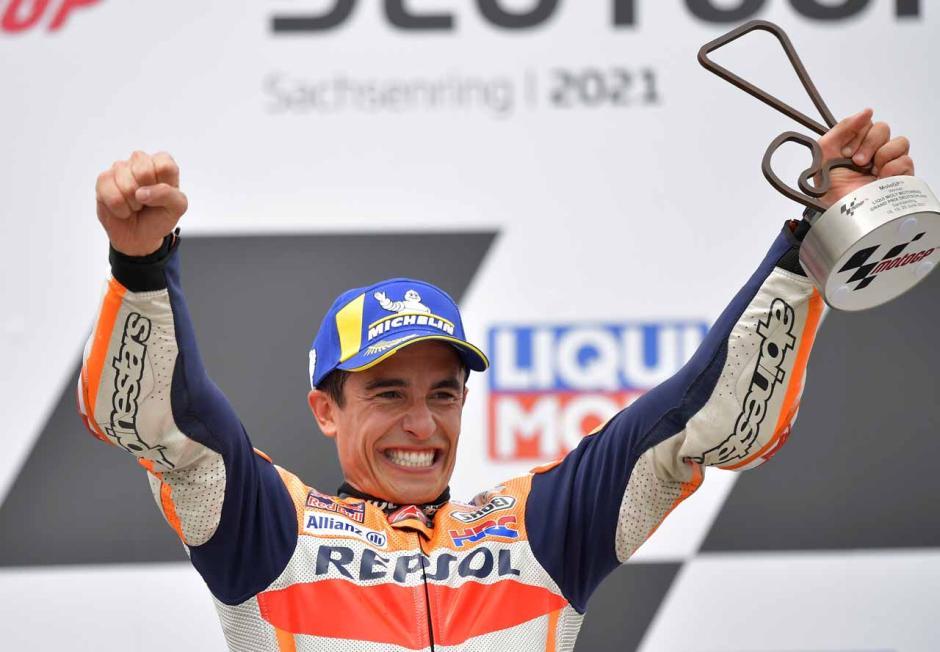 The Baby Alien Marc Marquez Cetak Kemenangan Perdana di MotoGP 2021-5