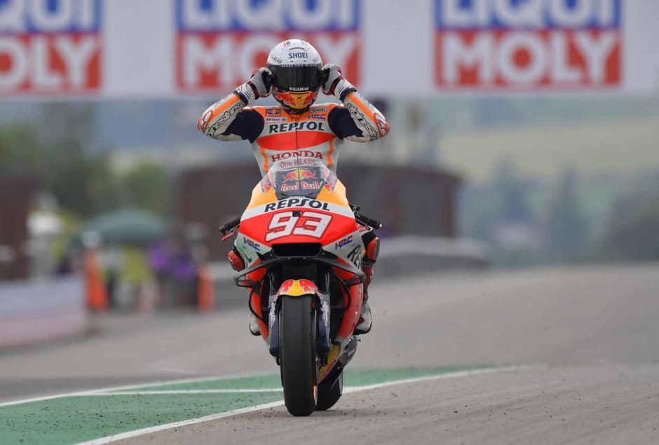 The Baby Alien Marc Marquez Cetak Kemenangan Perdana di MotoGP 2021-1