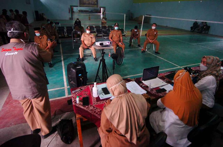 Empat Kepala Desa di Tegal Kompak Protes Tes Usap Puskesmas-1