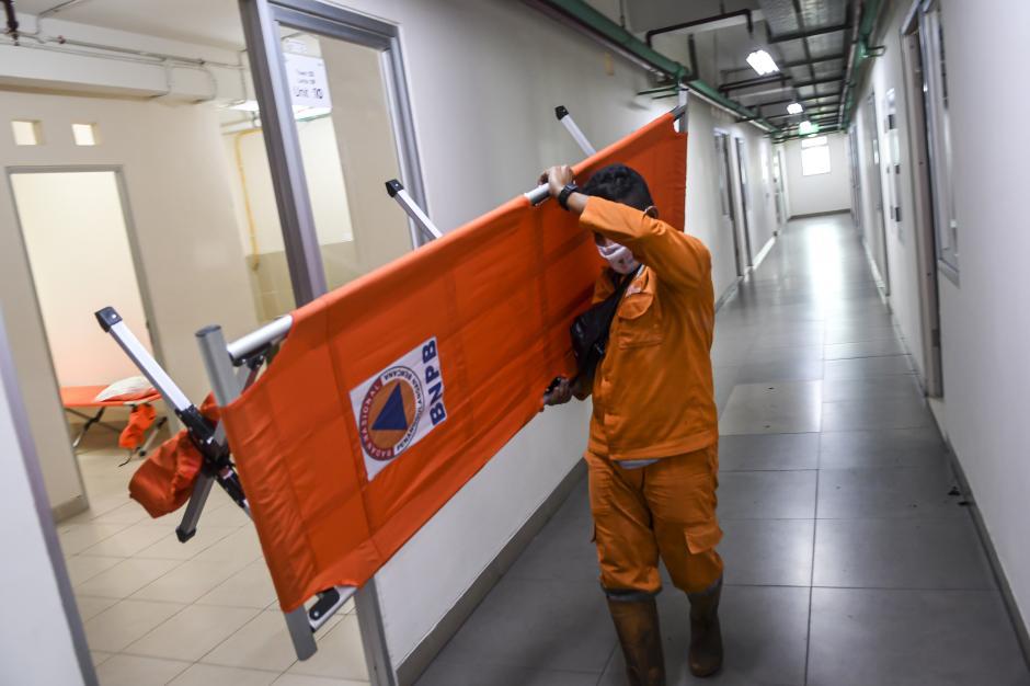Lonjakan Kasus Covid-19 Jakarta, Rusun Nagrak Dioperasikan untuk Rawat Pasien OTG-0