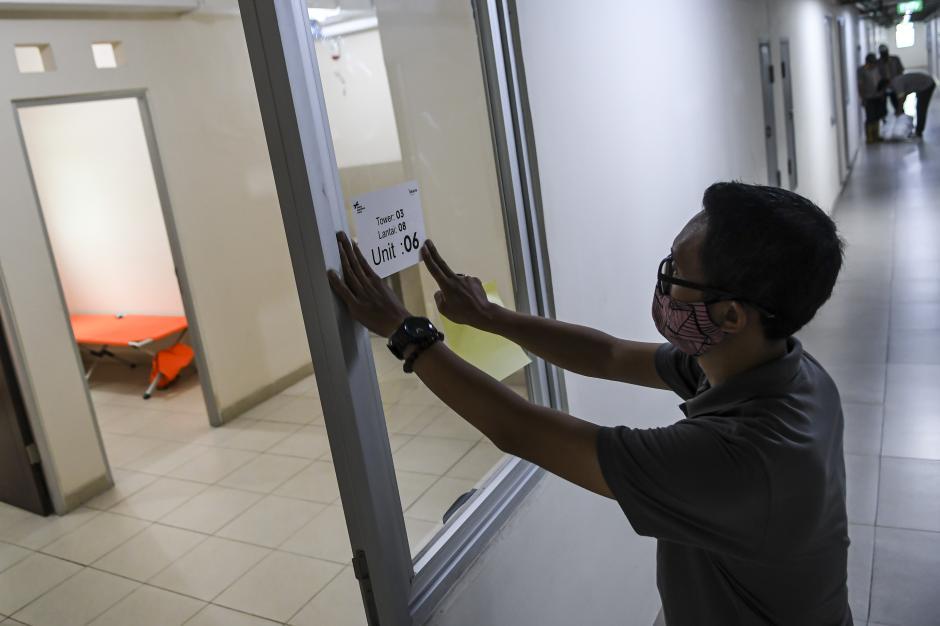 Lonjakan Kasus Covid-19 Jakarta, Rusun Nagrak Dioperasikan untuk Rawat Pasien OTG-2