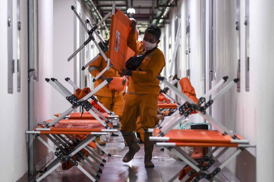 Lonjakan Kasus Covid-19 Jakarta, Rusun Nagrak Dioperasikan untuk Rawat Pasien OTG-4