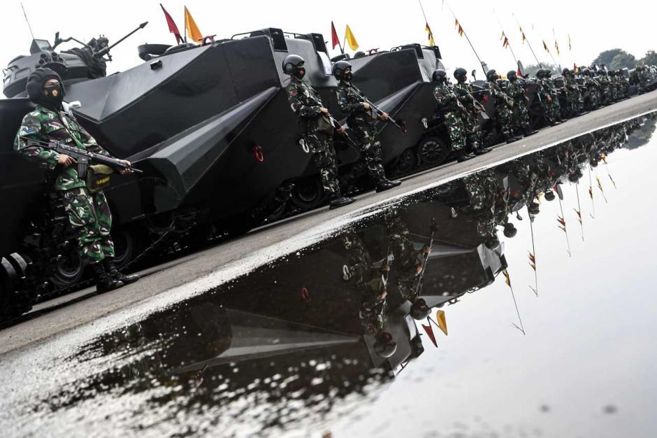 Apel Gelar Pasukan Armada Jaya XXXIX TA 2021-4