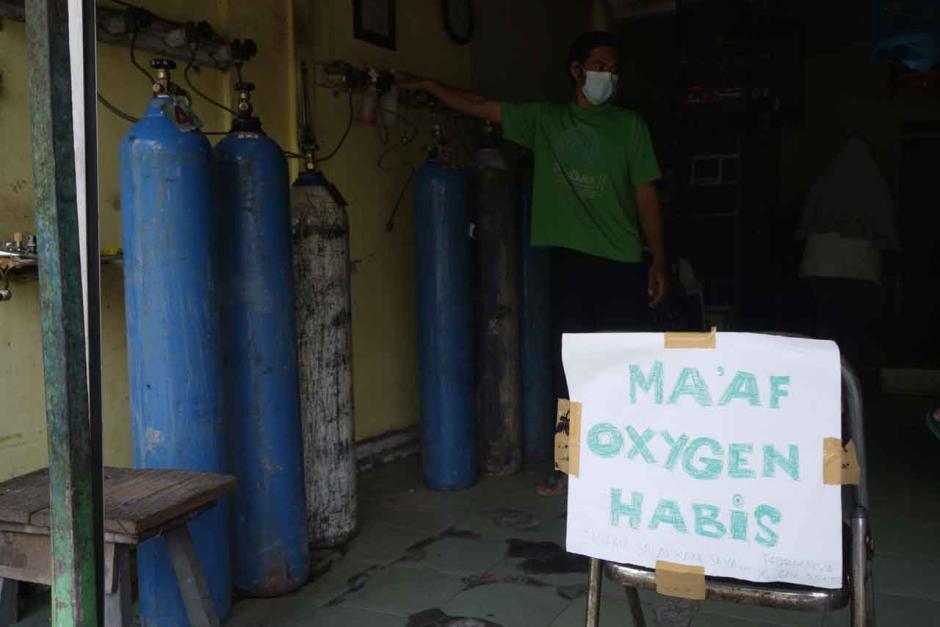 Kelangkaan Oksigen di Yogyakarta-1