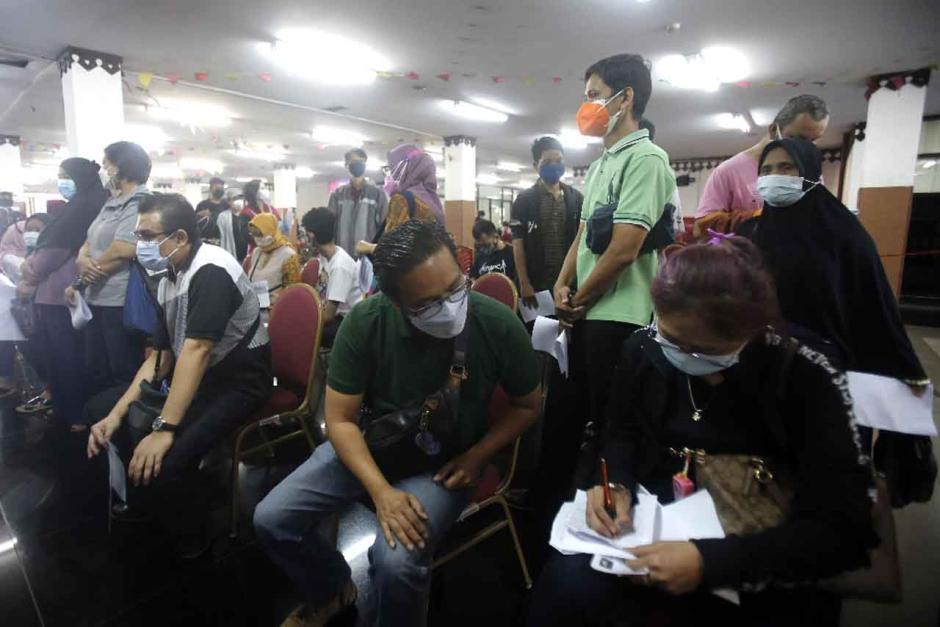 GOR Ciracas Jadi Sentra Vaksinasi Covid-19 di Jakarta Timur-2