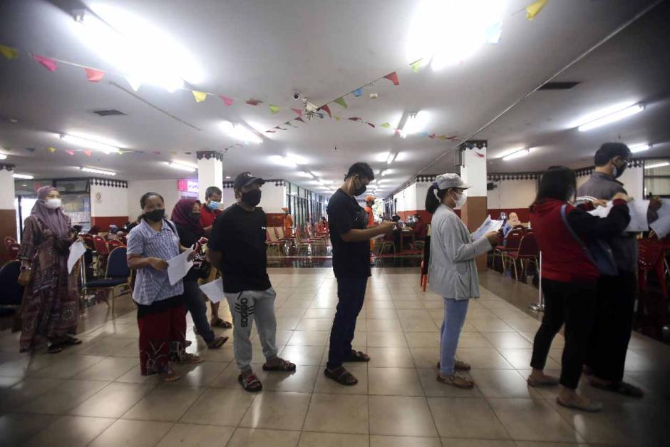 GOR Ciracas Jadi Sentra Vaksinasi Covid-19 di Jakarta Timur-4