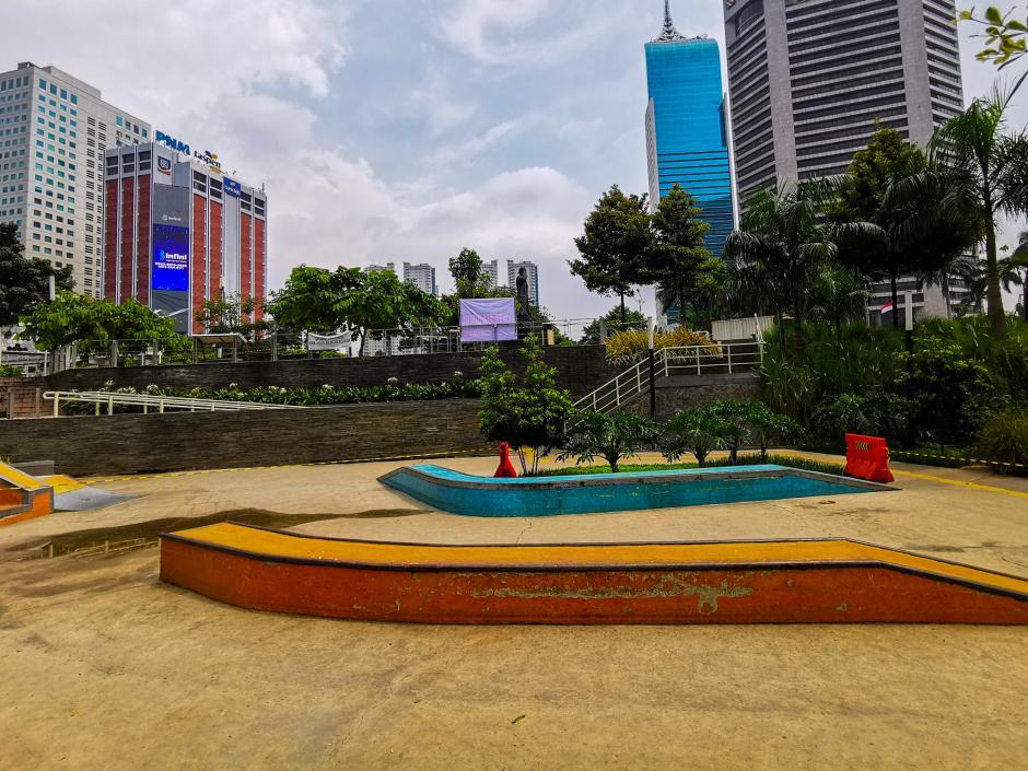 Penutupan Sementara RTH di Jakarta-1