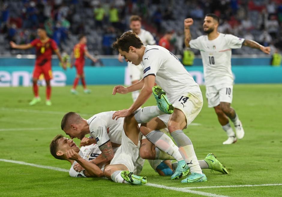 Singkirkan Belgia, Italia Melaju ke Semifinal Piala Eropa 2020-2