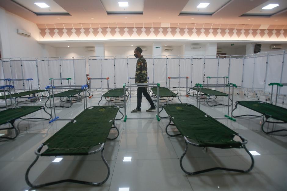GOR Kecamatan Matraman Disulap Jadi Tempat Isolasi Mandiri Pasien Covid-19-2
