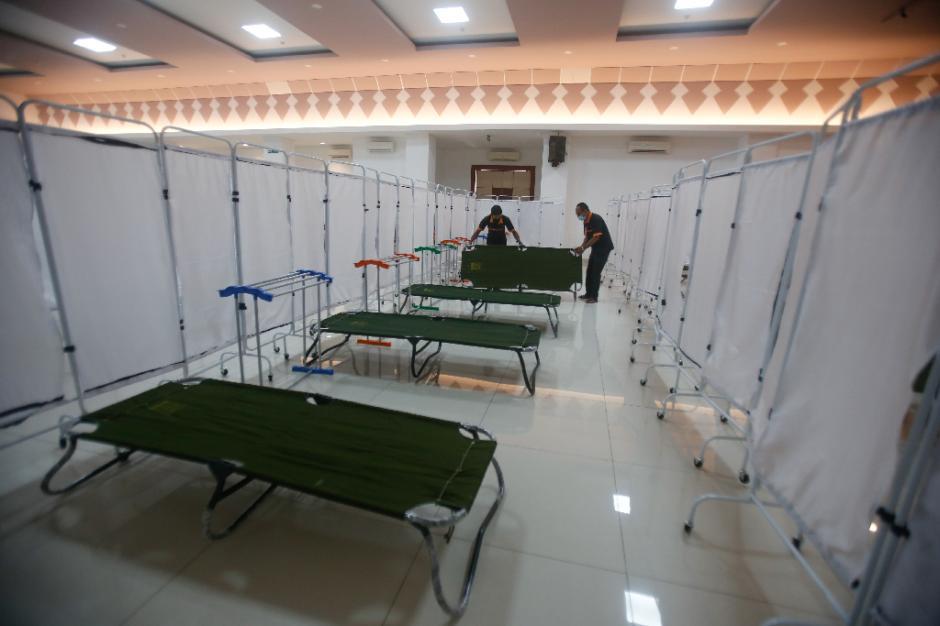 GOR Kecamatan Matraman Disulap Jadi Tempat Isolasi Mandiri Pasien Covid-19-0