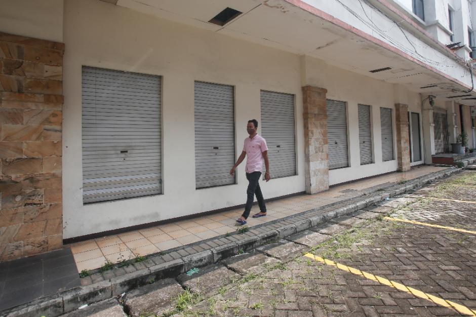 Pertokoan ITC Fatmawati Tutup Selama Penerapan PPKM Darurat-3