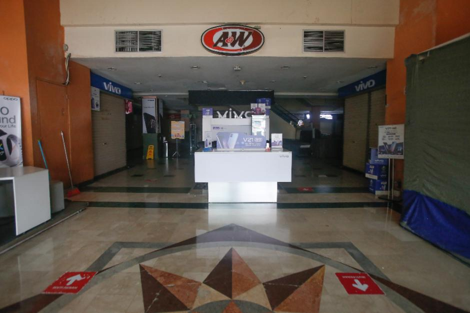 Pertokoan ITC Fatmawati Tutup Selama Penerapan PPKM Darurat-2
