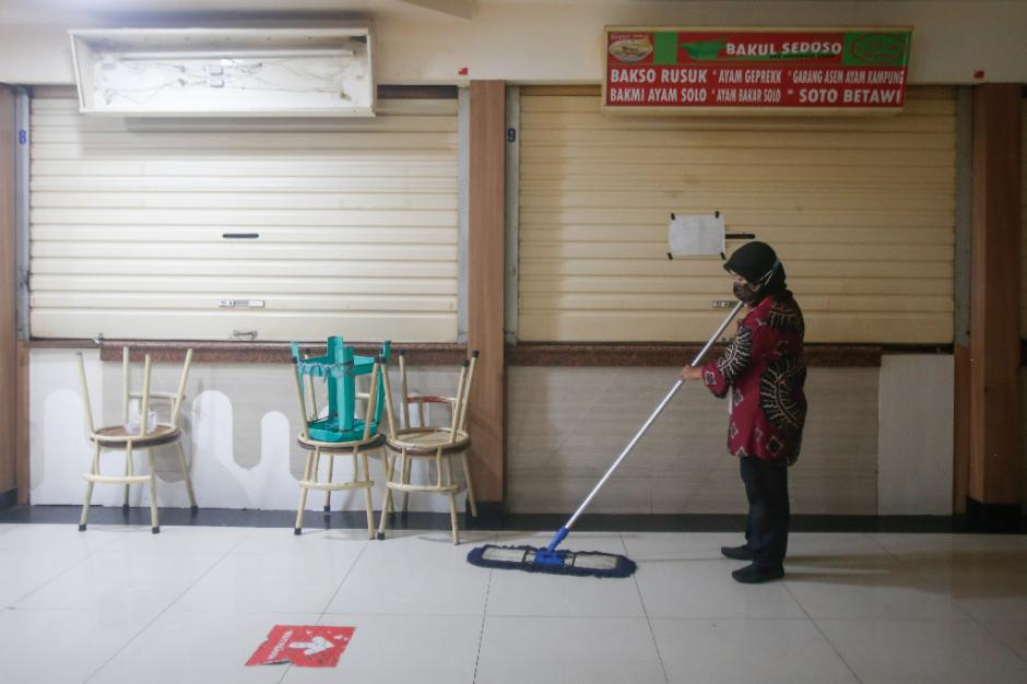 Pertokoan ITC Fatmawati Tutup Selama Penerapan PPKM Darurat-1