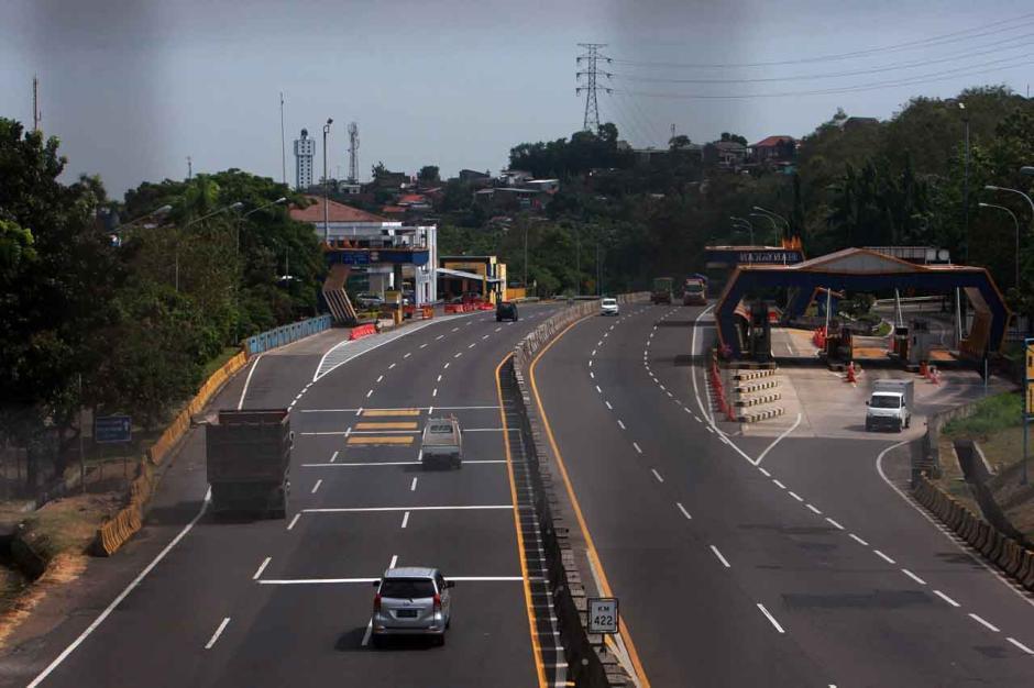 Exit Tol di Jateng Ditutup, Jalan Tol Semarang-Solo Lengang-0