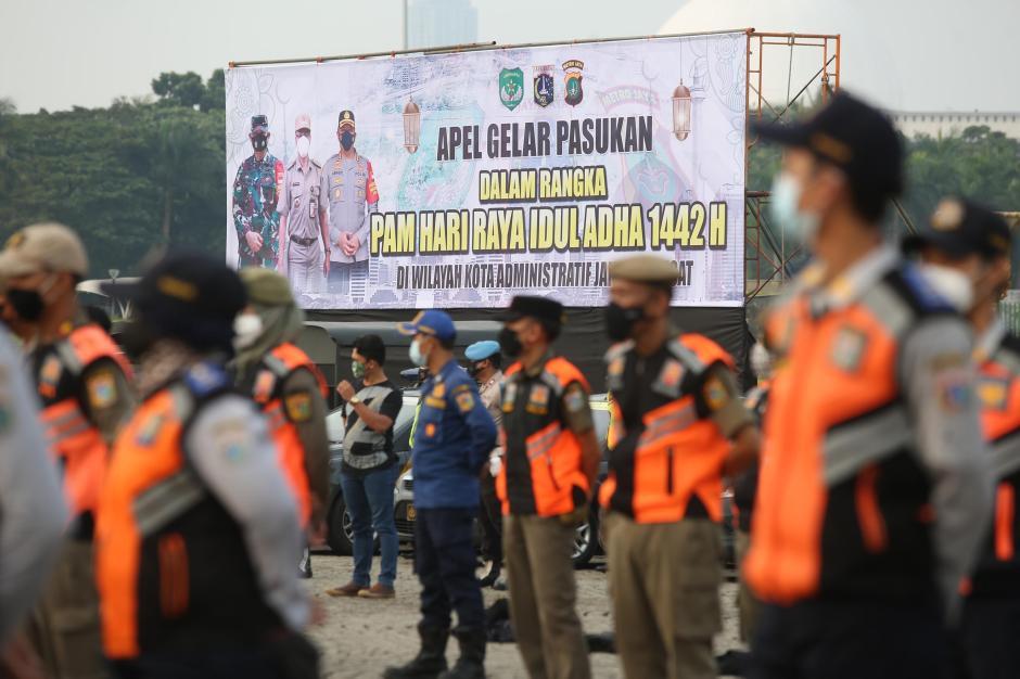 Apel Gelar Pasukan Pengamanan Idul Adha di Ibukota-2