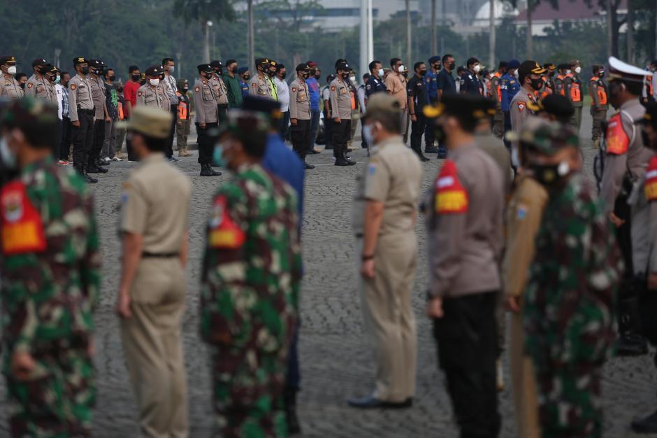 Apel Gelar Pasukan Pengamanan Idul Adha di Ibukota-0