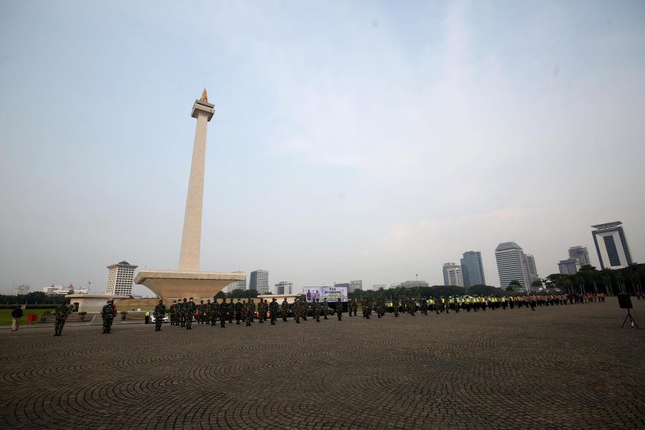 Apel Gelar Pasukan Pengamanan Idul Adha di Ibukota-3