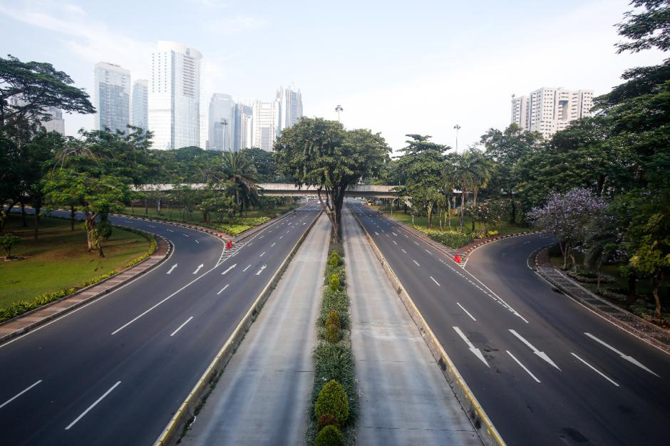 Hari Raya Idul Adha 2021, Sejumlah Ruas Jalan di Jakarta Lengang-3