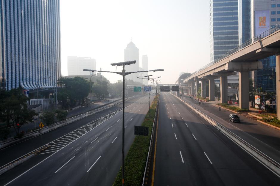 Hari Raya Idul Adha 2021, Sejumlah Ruas Jalan di Jakarta Lengang-0