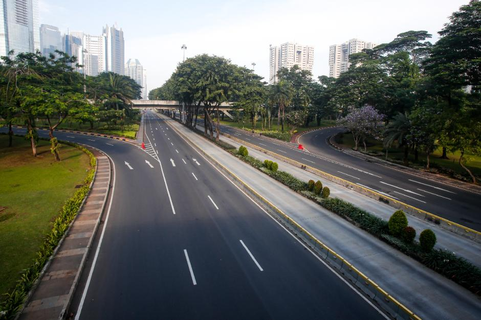 Hari Raya Idul Adha 2021, Sejumlah Ruas Jalan di Jakarta Lengang-5
