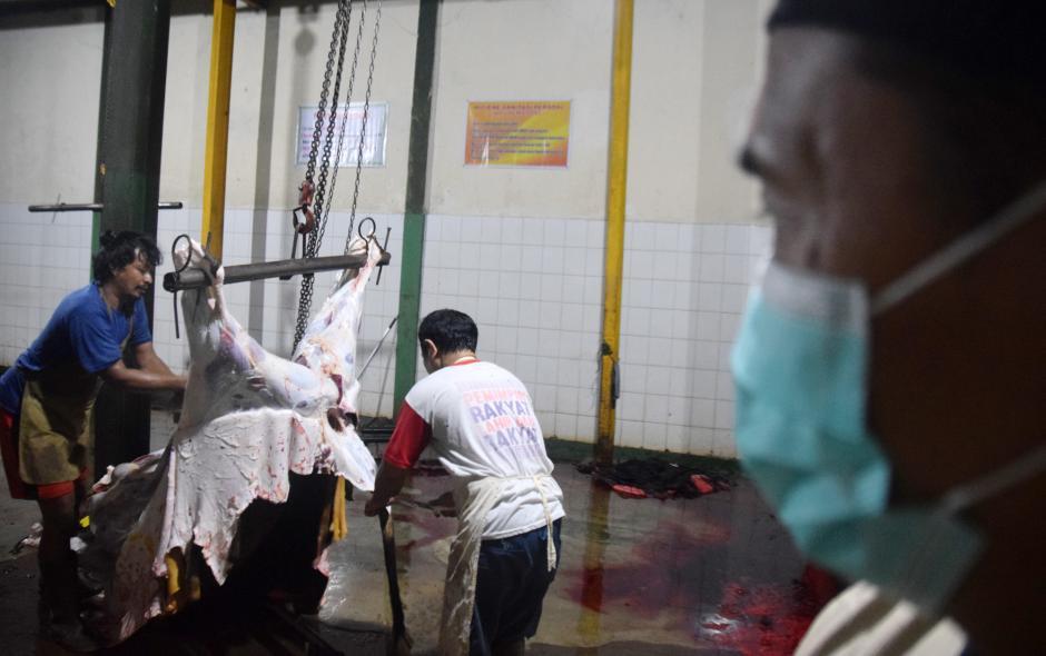 Potret Jagal Hewan Kurban di Masa Pandemi n PPKM Darurat-2