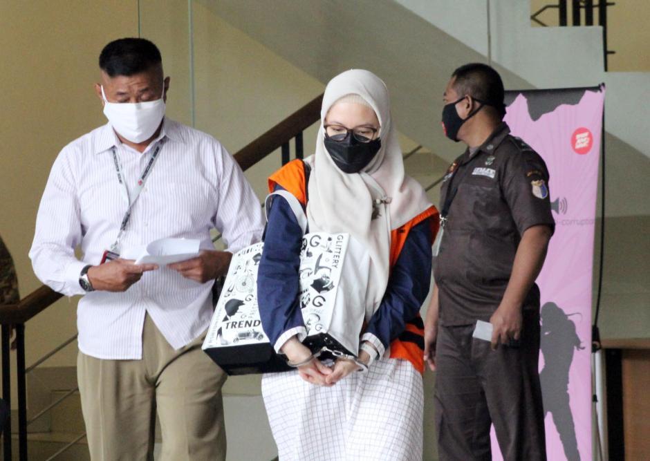 Pemeriksaan Lanjutan Tersangka Siti Aisyah Tuti-2