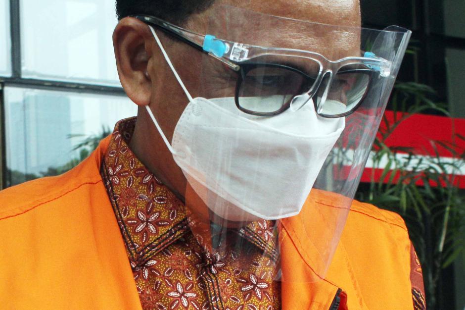 Terdakwa Nurdin Abdullah Jalani Sidang Lanjutan di KPK-1
