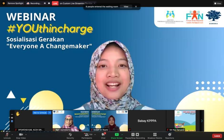Begini Cara Ashoka Young Changemakers-Forum Anak Nasional Buat Anak RI Jadi Pemimpin Perubahan-2