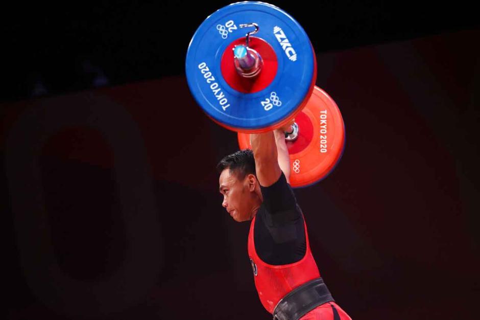 JOSS!! Eko Yuli Irawan Sumbangkan Perak untuk Indonesia di Olimpiade Tokyo 2020-1