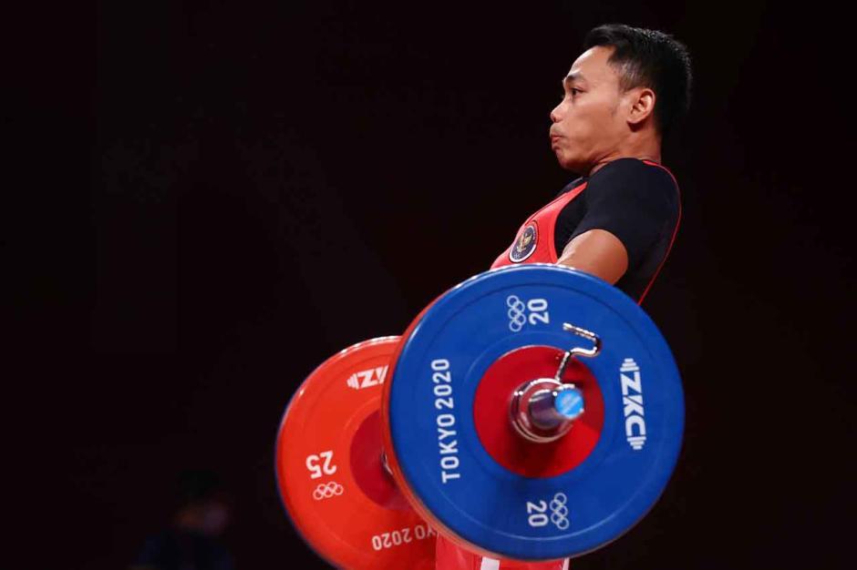 JOSS!! Eko Yuli Irawan Sumbangkan Perak untuk Indonesia di Olimpiade Tokyo 2020-0