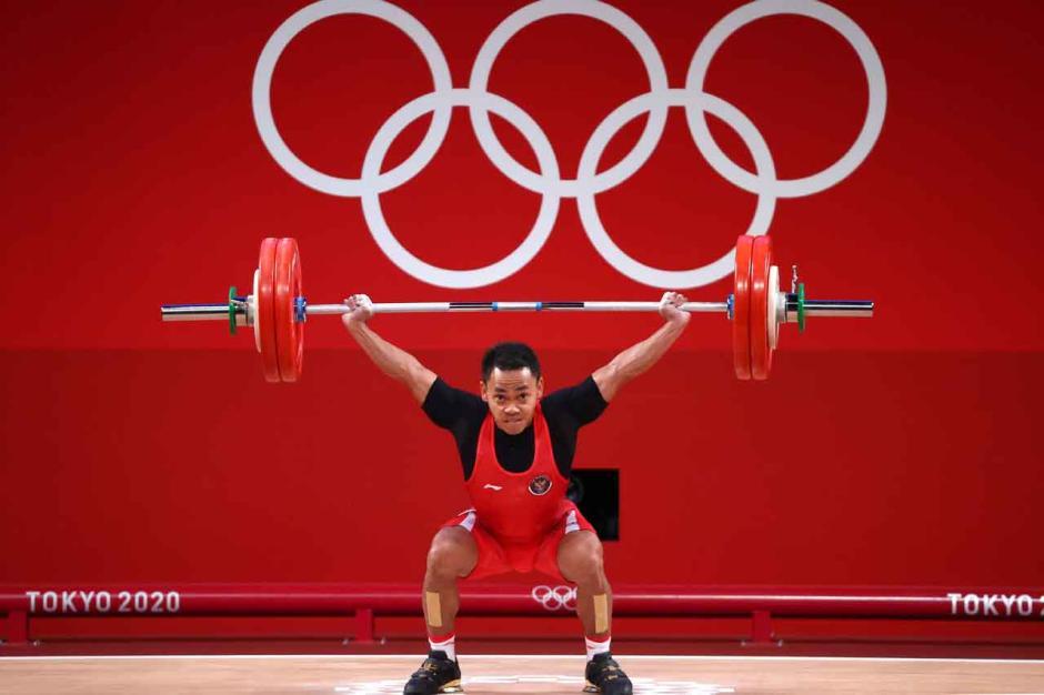 JOSS!! Eko Yuli Irawan Sumbangkan Perak untuk Indonesia di Olimpiade Tokyo 2020-4