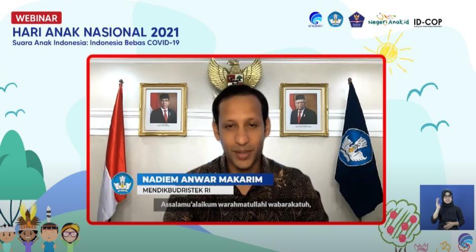 Hari Anak Nasional 2021 : Anak Indonesia Rindu Hidup Normal-3