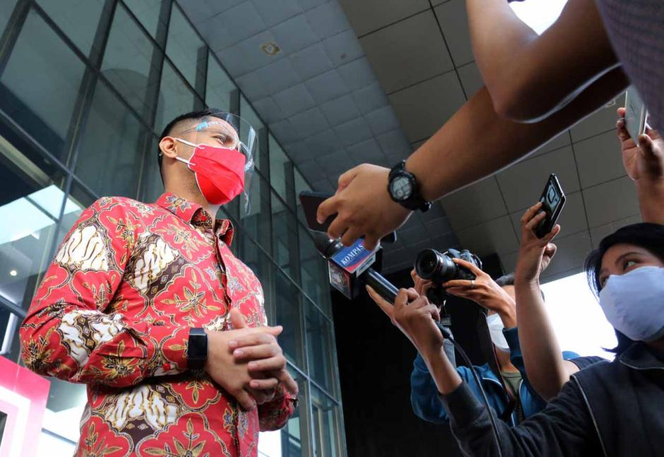 Hengky Kurniawan Jalani 5 Jam Pemeriksaan di KPK Terkait Kasus Bupati Bandung Barat-1