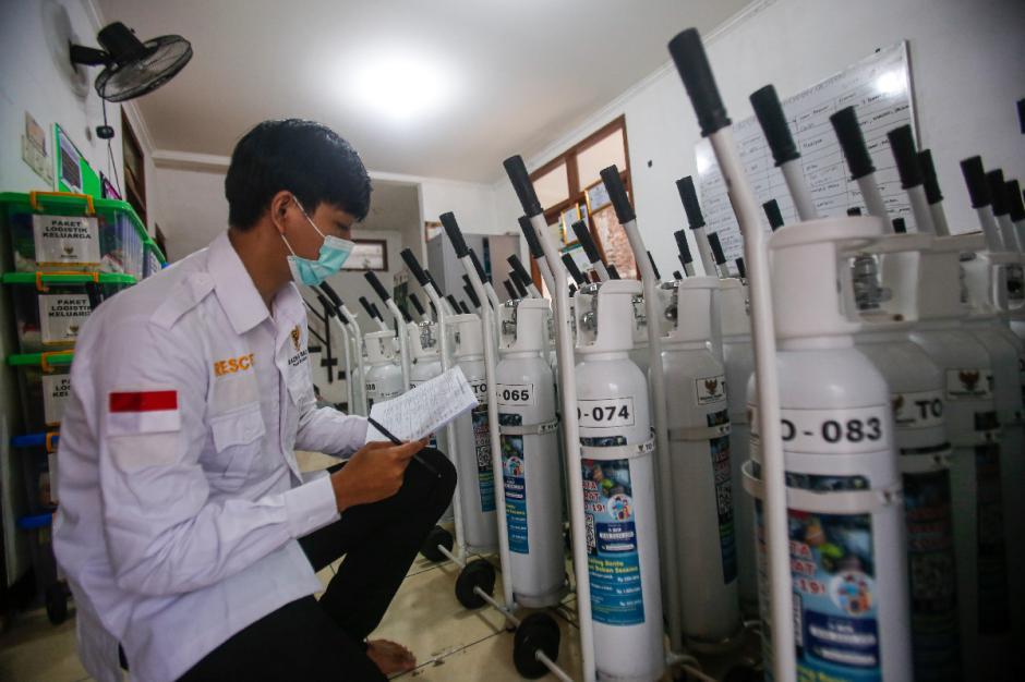 Baznas Bazis Siapkan Oksigen Gratis untuk Pasien Isolasi Mandiri Covid-19-5