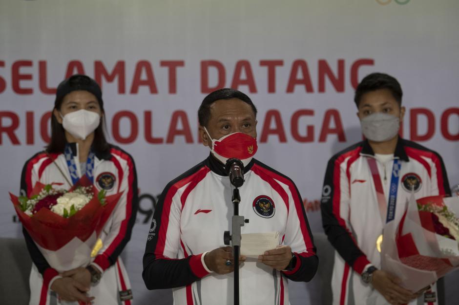 Kloter Terakhir Kontingen Olimpiade Indonesia Tiba-3