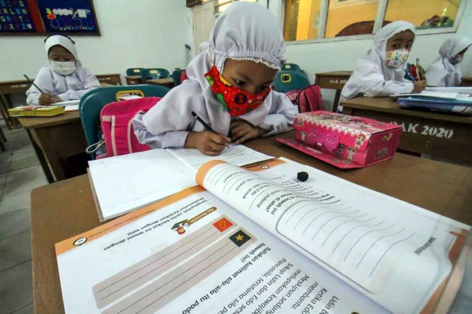 Sekolah Tatap Muka Terbatas di Lhokseumawe-1