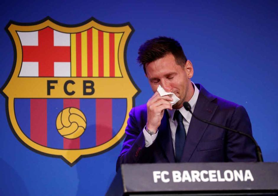 Tangisan La Pulga di Camp Nou, Lionel Messi Pamit!-6