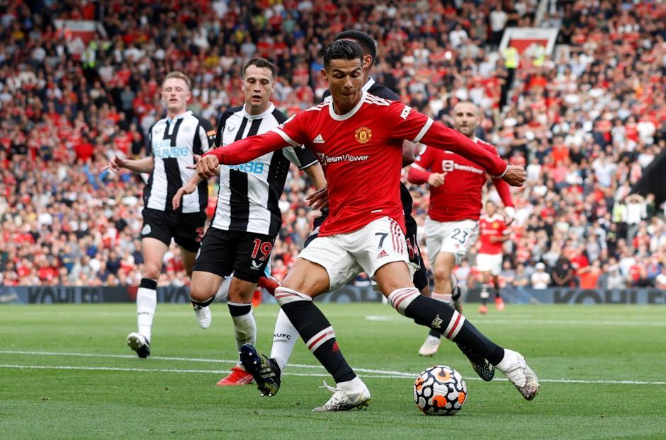 Potret Aksi Cristiano Ronaldo Hancurkan Newcastle United 4-1-4
